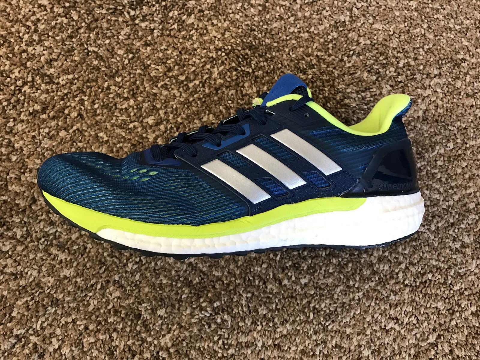 Road Trail Run: adidas Supernova Glide 9 Review: Rebounding, Steady ...