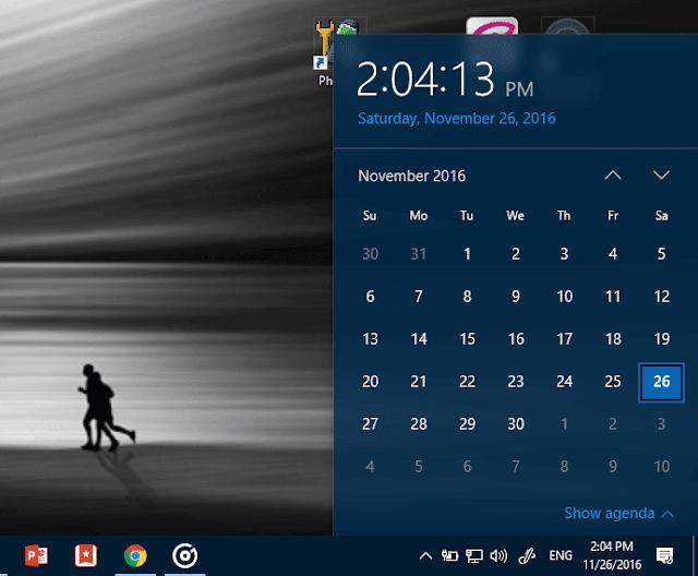 windows app calendar