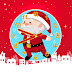 Santa Claus Clock Animated Screensaver