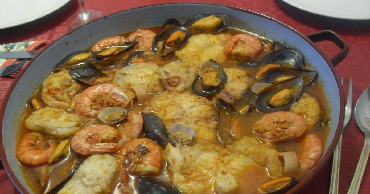 Paprika en la cocina zarzuela a mi manera for Cocinar zarzuela