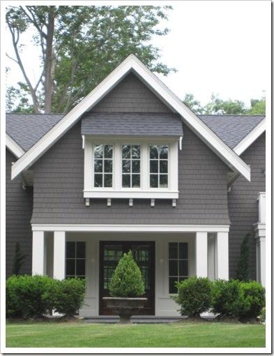 Design dump exterior color choices - Grey and white house ...