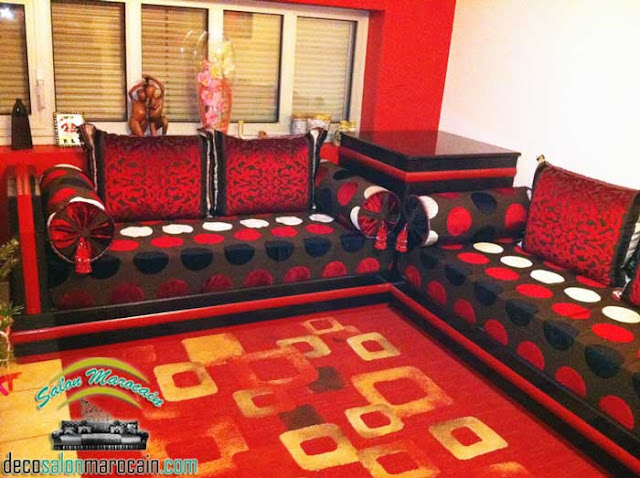 Salon marocain moderne 2014 — salon marocain ultra decor