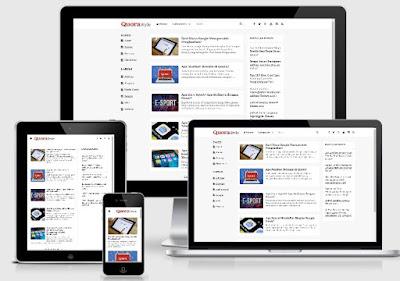 Template Blog SEO Friendly dan Ramah Pengguna