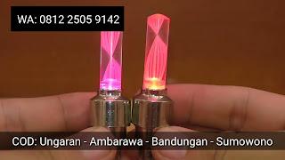 Tutup Pentil LED Sensor Gerak
