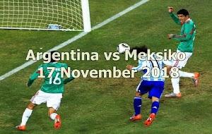Prediksi Argentina vs Meksiko 17 November 2018