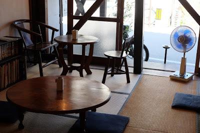ナノグラフィカ 喫茶室(金斗雲)インテリア