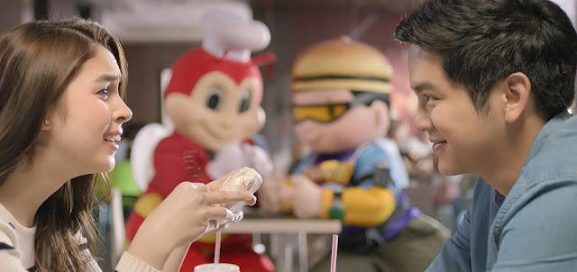 "Jollibee sponsored fans to JoshLia movie""Love You to the Stars and Back"