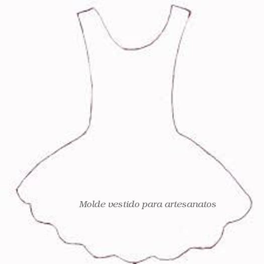Extremamente Baú da Web: Moldes de Vestidos para Convites CO16
