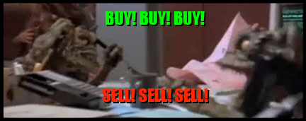 The Huh?: Stock Market Advice From Josh's Brokers- The Gremlins
