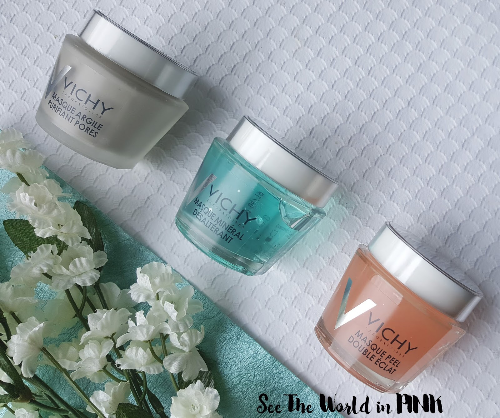 Mask Wednesday - Vichy Mineral Masks