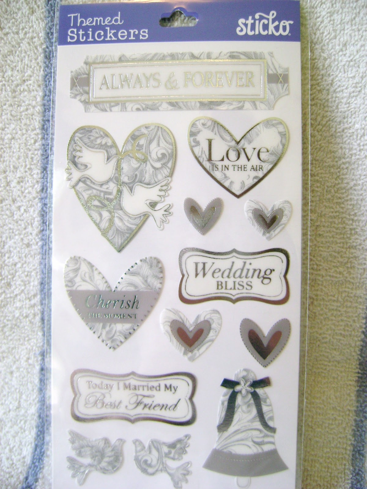 Exelent Wedding Themed Stickers Pictures - The Wedding Ideas ...