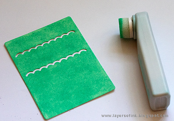 Layers of ink - Inky Stencil Card Tutorial by Anna-Karin Evaldsson