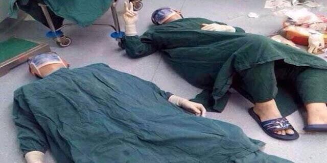 مشفى تشرين ينفي العمل الجراحي (الفيسبوكي) الصورة في الصين!!!