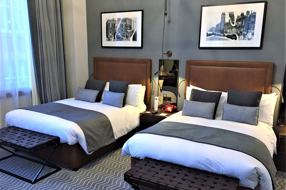 The Principal Hotel room, Manchester - UK travel & lifestyle blog