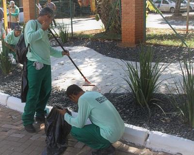 Goiânia: Presos do semiaberto iniciam trabalho de recuperação dos Parques