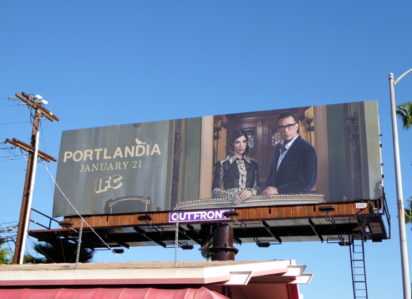 Portlandia season 6 IFC billboard