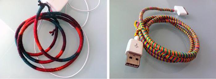 kulaklık kablosu kaplama ve süsleme yöntemleri