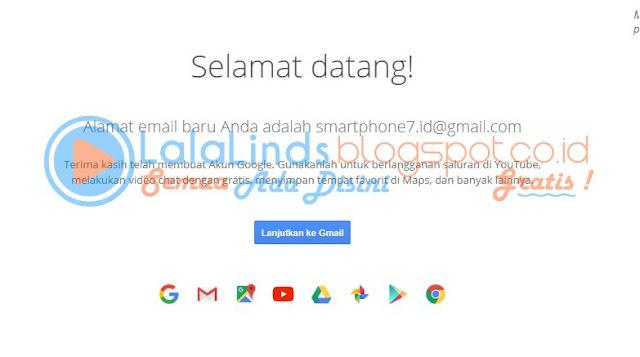 Cara Daftar Akun Google Gmail Dengan Gambar
