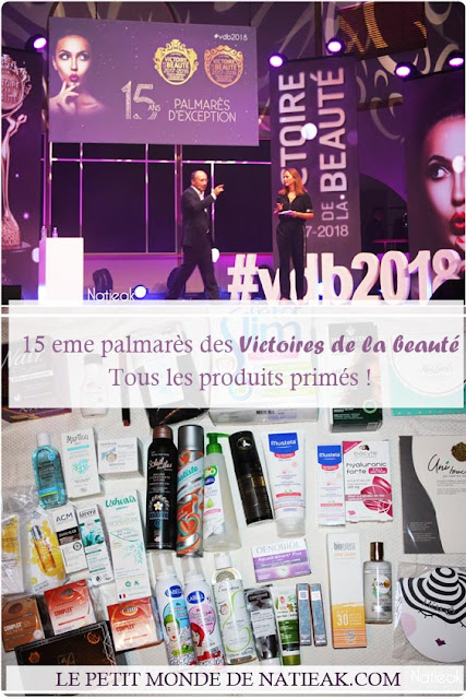 Palmarès 2017-2018 de la 15 eme édition des Victoires de la beauté
