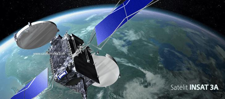 Inilah Frekuensi dan Simbol Rate Terbaru Dari Satelit Insat 3A/4B