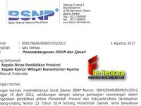 Download Surat Edaran BSNP Mengenai Penandatangan Ijazah dan SHUN untuk Tahun 2017