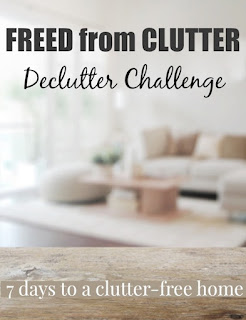 Freed from Clutter Challenge