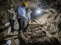 17 Mumi Langka Ditemukan di Mesir