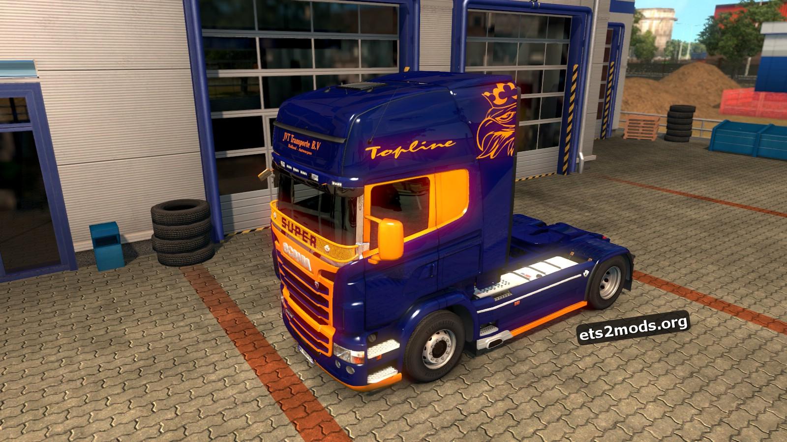 Scania RJL JVT Skin