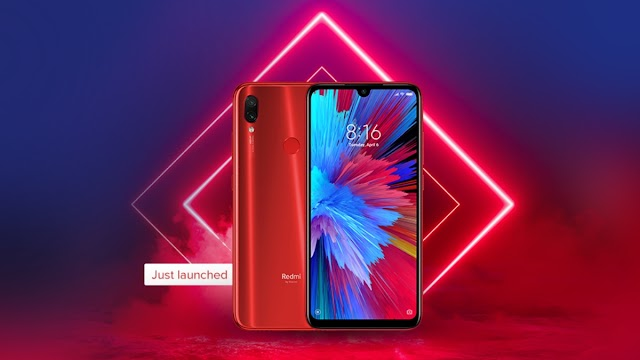 New Phone Redmi Note 7S launched in India - Specifications and Features