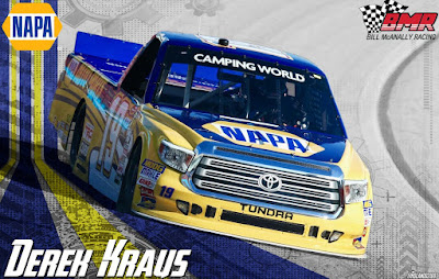 Derek Kraus Makes the Most Of His #NASCAR Camping World Truck Series Inauguration