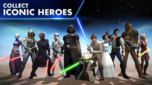 Star War Galaxy of Heroes Android game