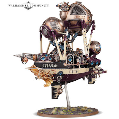 warhammer age of sigmar kharadron overlords arkanaut frigate