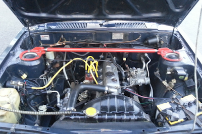 Mesin Toyota Corolla DX KE70 Restorasi