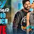 Duvvada Jagannadham Audio Launch Live