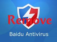 Cara Mudah Menghapus/Uninstall Baidu Antivirus