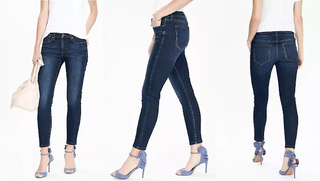 Banana Republic Sculpt Skinny High Rise Ankle Jean $39 (reg $98)