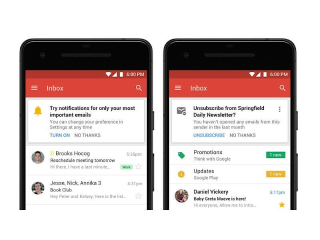 New Gmail is here: 14 new features you should know - Gmail Google Email