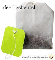 Niemiecki w opiece - Verpackungen/ Opakowania - der Teebeutel