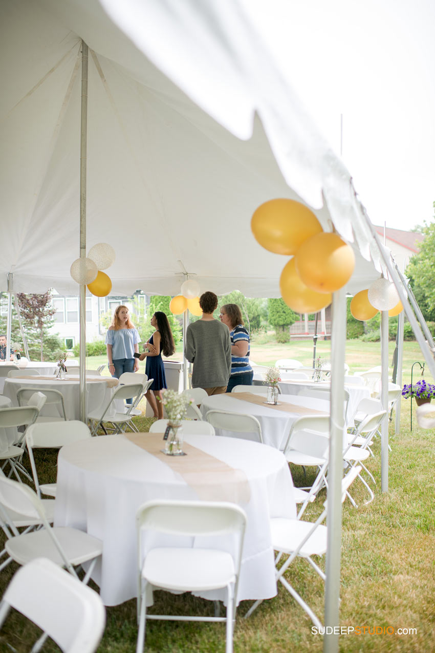 Senior Graduation Party Decoration Ideas Tent SudeepStudio.com Ann Arbor Senior Pictures Event Photographer