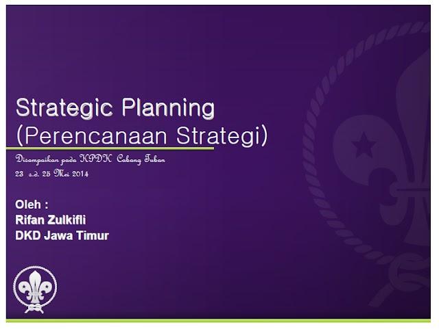 Download Materi Strategi Planning PPT