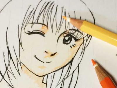 色鉛筆モード1