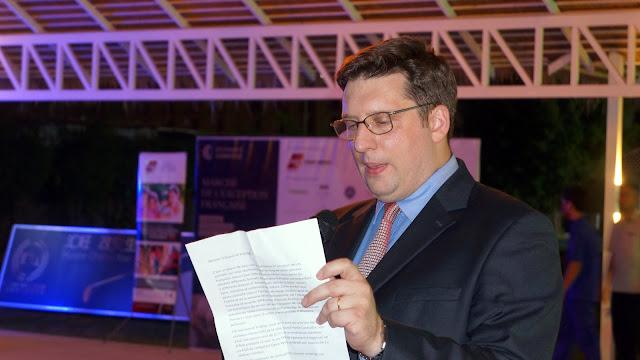 Guillaume Massin, Président de la CCI FRANCE CAMBODGE