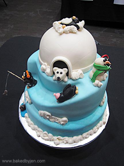 Baked By Jen Winter Wonderland Cake