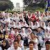 Sepuluh Sekolah Dikabupaten Bogor Ikuti Aksi Gerakan Tolak Jadi Target Rokok