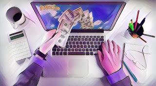 cara mudah hasilkan uang dari internet