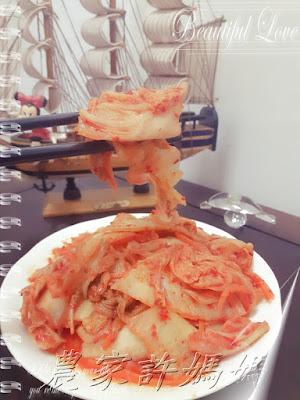 醬汁夠味韓國泡菜kimchi-許媽媽-2