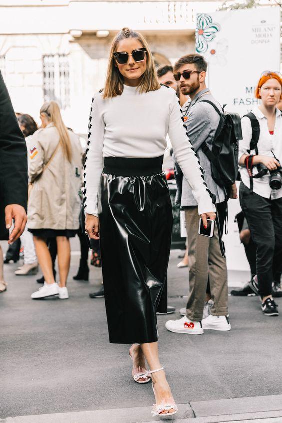 The Olivia Palermo Lookbook Olivia Palermo At Milan Fashion Week Vi