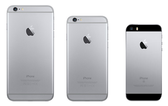 Apple iPhone SE, iPhone 2016 Line-up