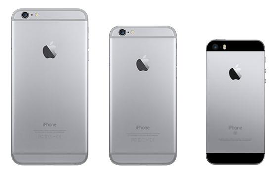 Apple iPhone SE, iPhone 2016 Line-up