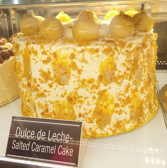 5 Loaves & 2 Fish Launch - Dulce De Leche Salted Caramel Cake